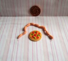 DOLLS HOUSE FOOD - PIZZA & SAUSAGES PACK
