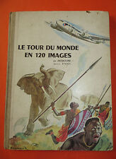 Le tour du monde en 120 images, collection-concours Chocolats MENIER, 1956