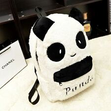 Preppy Style Super Cute Plush Panda Backpack Multi-Function Leisure Bags Unisex