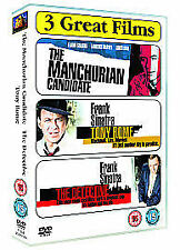 Sinatra Collection - The Manchurian Candidate/Tony Rome/The Detective (DVD, 200…