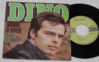 """DINO:7""""-MORIRE O VIVERE-1°STAMPA ORIGINALE 1968 EX++"""