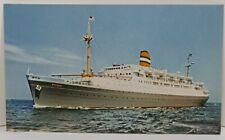 Ss Ryndam Holland American Cruise Line Boat Ship Vintage Postcard