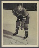 1945-54 Quaker Oats Photos Montreal Canadiens #80B Glen Harmon/Home Still
