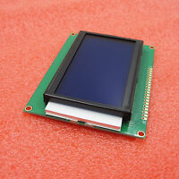 KS0108 128x64 Graphic LCD Display Module Blue Backlight 128x64 Dots 5V