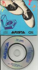 Ray Davies THE KINKS Father Christmas 3TRXw/ LOLA LIVE MINI 3 INCH CD single CD3