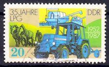 DDR 3090 , gestempelt / o / Landwirtschaft  , Traktor