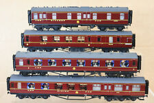 COMET KIT BUILT RAKE of 4 LMS LONDON BIRMINGHAM COACH by GRAHAM VARLEY GODDARD 2