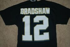 377591459f7 NEW Majestic Hall of Fame #12 Terry Bradshaw NFL Jersey Shirt (Medium)