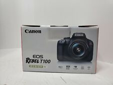 Canon EOS Rebel T100 Digital SLR Camera with 18-55mm Lens Kit Frees shipping
