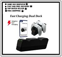 NEW Dual Charging Station for PS5 Controller Base Charger ,PS5 Controller Dock