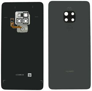 Original Huawei Mate 20 HMA-L09 Akkudeckel Backcover Sensor Schwarz Sehr Gut