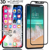 FULL COVERAGE 9H TEMPERED GLASS SCREEN PROTECTOR FOR APPLE IPHONE X / 8 Plus