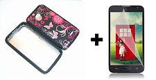 LG Optimus Exceed 2 VS450PP Hybrid Phone Case+Screen Protector - Wonderland