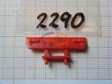 2x ALBEDO Ersatzteil Ladegut Heckblende Stoßstange auflieger H0 1:87 - 2290