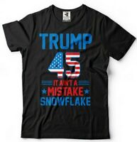 Donald Trump President T-shirt Funny 2024 Elections It Ain't A Mistake Snowflake