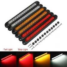 6pcs 15 Led Red Sealed Trailer Truck Rv Stop Tail Brake Turn Signal Light Bar