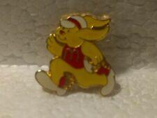 McDonald's Yellow Bunny Rabbit Running with Arches Shirt Collectible Pin pin3508