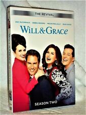 Will And Grace Season Two (DVD, 2018, 2-Disc) Eric McCormack Debra Messing Sean