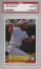 1984 DONRUSS # 355 JOE MORGAN ☆HALL OF FAME☆ PHILADELPHIA PHILLIES PSA 10 GEM-MT
