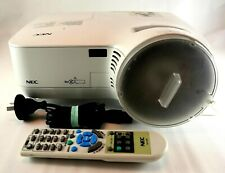 Projector NEC NP510WSG Tested w Remote Control Lamp NP07LP