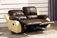 Voll-Leder Couch Sofas Garnitur Relaxsessel Fernsehsessel 5129-2-377-317