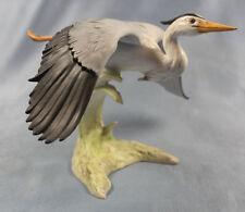 Fischreiher Reiher goebel figur Vogelfigur porzellanfigur heron porzellan vogel