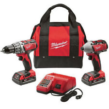 Milwaukee M18 18V Li-Ion 2-Tool Combo Kit 2691-22 Reconditioned
