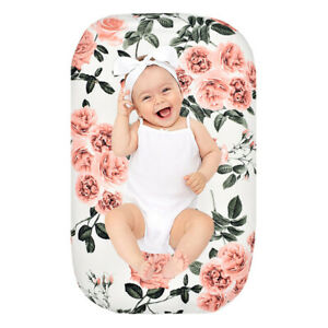 1PC Baby Newborn Nest Bed Cover Soft Lounger Slipcover Sleeping Pod Case Floral