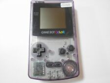 Z12325 Nintendo Gameboy Color console Clear Purple Japan GBC x Express