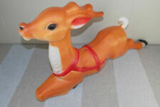 "Vintage Empire Giant Reindeer 35"" blow mold Nice!      Christmas"