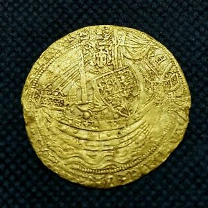 England - Edward III Full Noble (1327-1377, Struck 1351-1352)