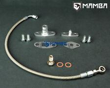 Mamba turbo OIL FEED & Retour Ligne Kit Pour Nissan 300ZX VG30ET Z31 avec Garrett T3