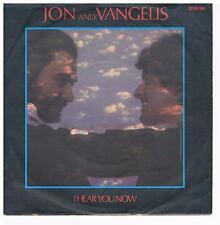 """Jon and Vangelis-I hear you now /Thunder / 7""""Single von 1979"""