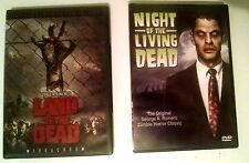 New NIGHT OF THE LIVING DEAD & LAND OF THE DEAD George A. Romero DVDs