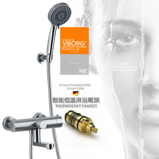 Thermostatic Shower Faucet Mixer Constant Temperature Control Mixing Water Valve