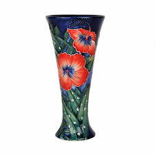 Old Tupton Ware Hibiscus 8 Inch Vase (flared Top)  NEW in Gift box