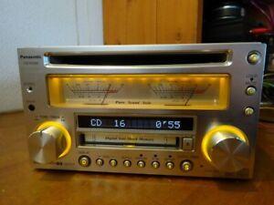 Panasonic CQ-VX5500D CD MD player SOLD AS I