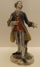 Porcelain Figure Austrian Royal Vienna Gentleman Antique
