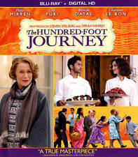 New The Hundred-Foot Journey (Blu-ray Disc, 2014, Includes Digital Copy)