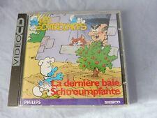 """LES SCHTROUMPFS """" La Dernière Baie Schtroumpfante """"  CD VIDEO  1996"""
