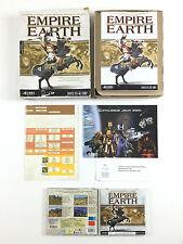 Jeu Empire Earth Sur PC Big Box / Boite Carton