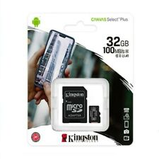 Kingston Micro SD 32gb Classe 10 Class MicroSD SDHC Scheda di Memoria Card