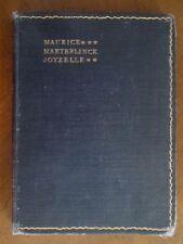 JOYZELLE Maurice Maeterlinck 1904 Drama IN GERMAN
