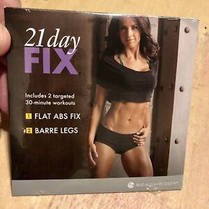 Beachbody - 21 Day Fix Flat Abs Fix & Barre Legs, BN Sealed DVD (Fitness)