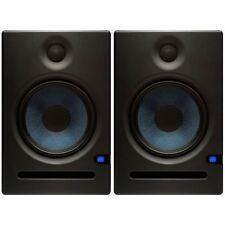 "Presonus ERIS E8 Black Pair 8"" 2-Way Active Powered Studio Monitor Speakers 140W"