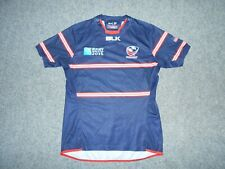 New listing 2015 BLK USA RUGBY WORLD CUP OFFICIAL ISSUE MENS MEDIUM GAME JERSEY