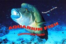AQUARIUM FISH #3317-3320 1999  First Day Ceremony Program