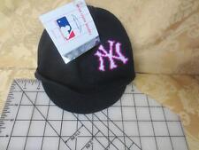 New NWT Infants MLB  Major League Baseball NY Yankees Winter Brimmed Knit Hat