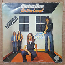 "STATUS QUO ""ON THE LEVEL"" SPANISH 12"" VINYL / ROSSI - YOUNG - BERRY"