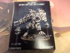 40K Warhammer Tau XV104 Riptide Battlesuit Box NIB